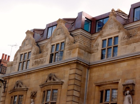 Oriel College - Rhodes Building extension