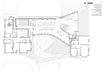 First floor plan © Zaha Hadid Architects