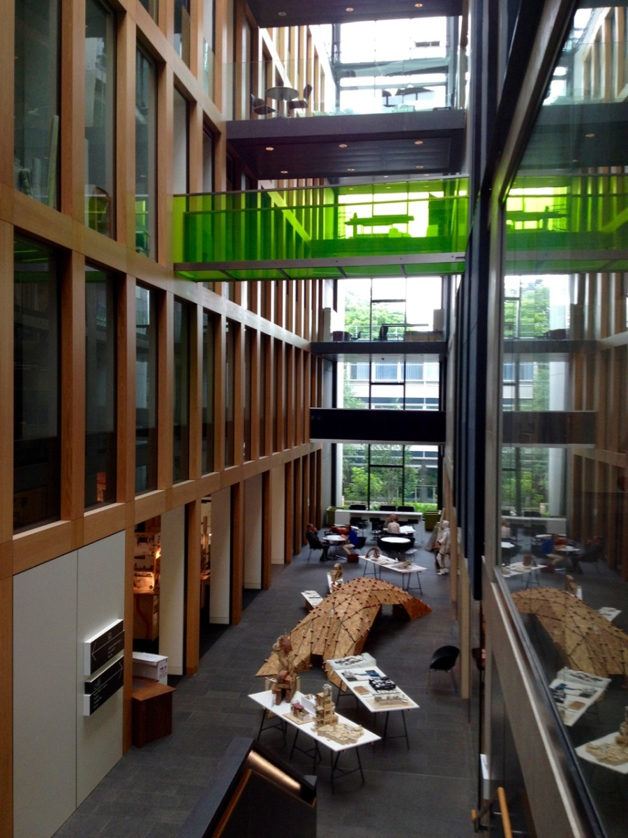 Oxford Brookes University - Abercrombie Building