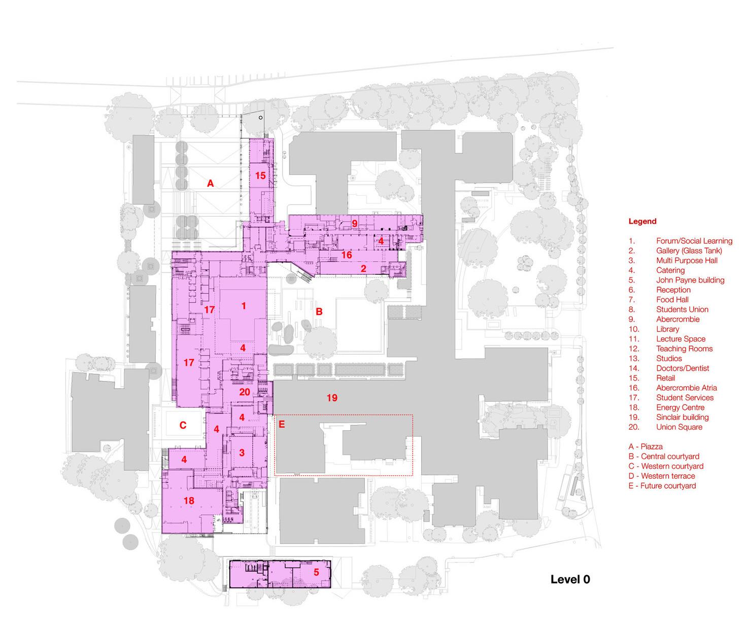 Oxford brookes university john henry brookes building for Oxford floor plan