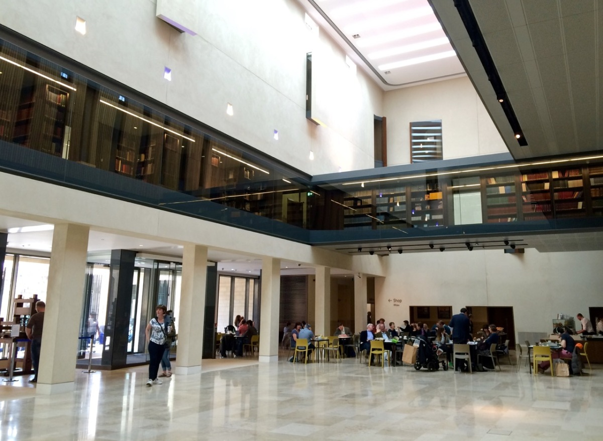 Bodleian Weston Library - Blackwell Hall