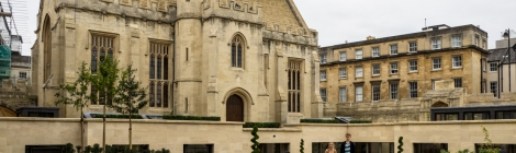 Magdalen College - Longwall Library