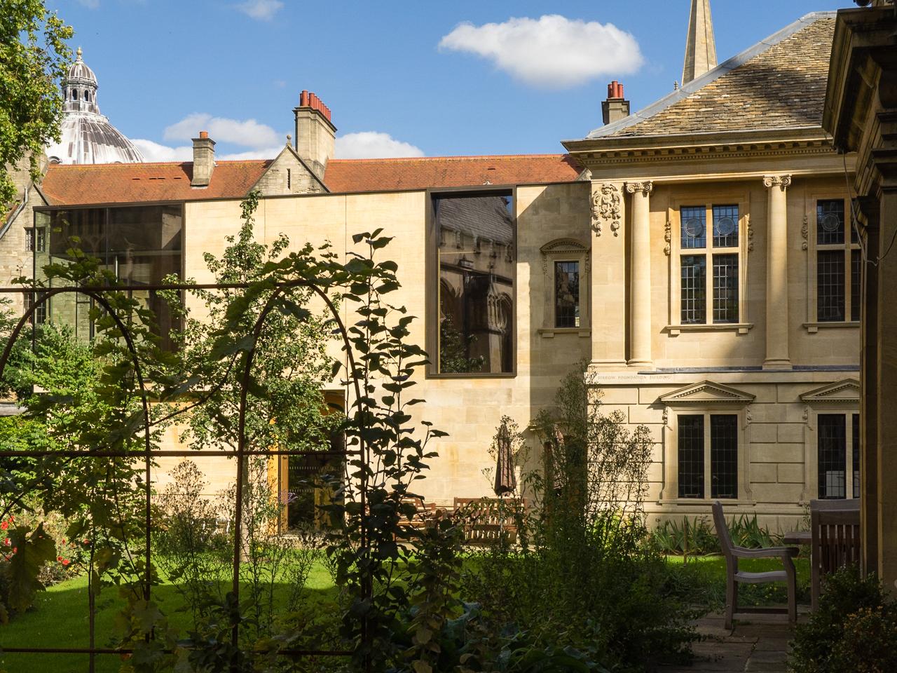 Lincoln College – Berrow Foundation Building | NEW OXFORD ARCHITECTURE