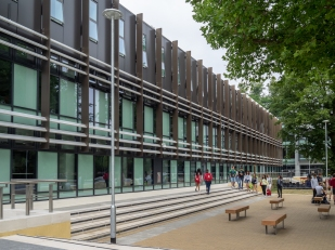 Oxford Brookes - Clerici Building (BGS Architects, 2017-19)